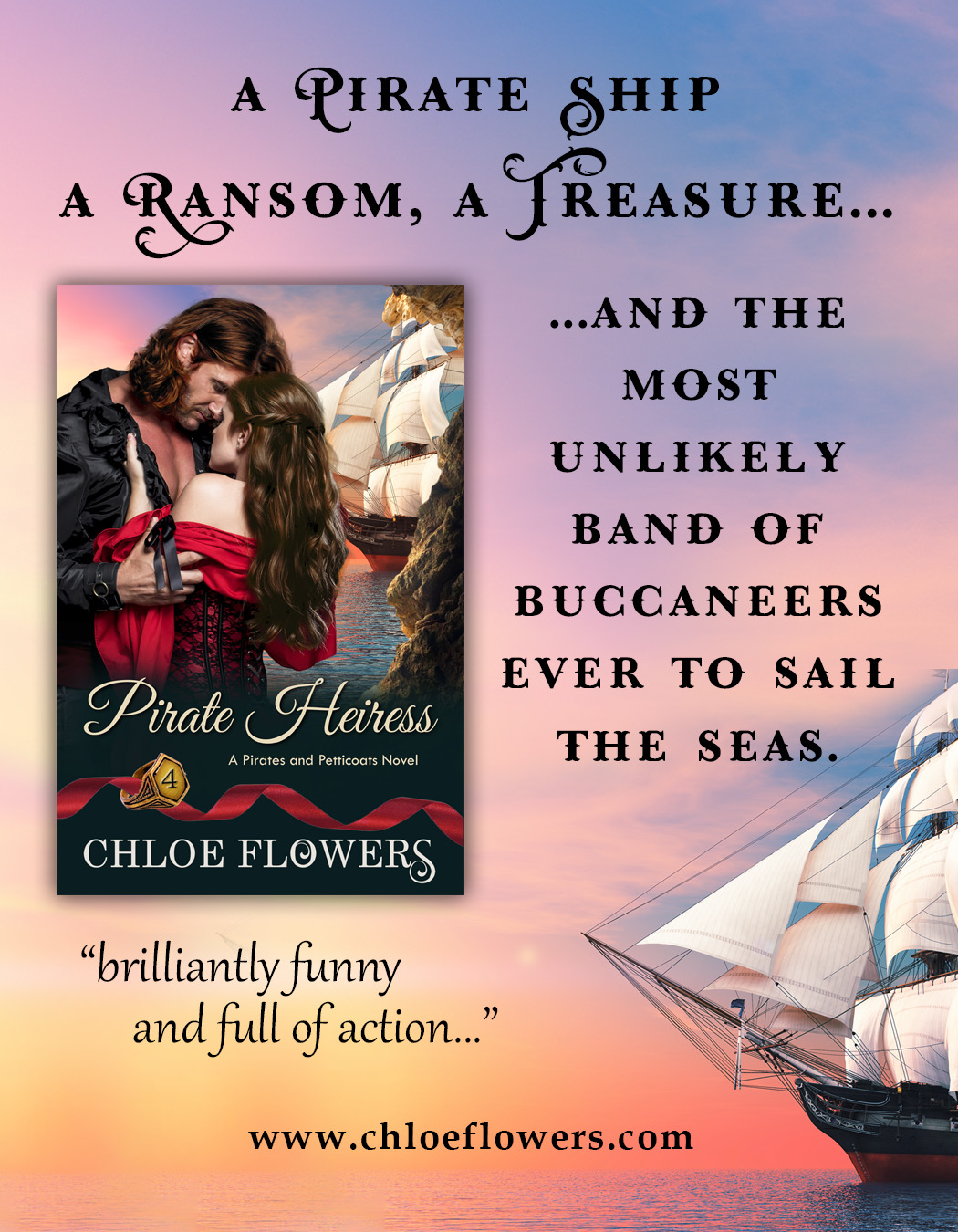 Special Deals, Free ebook, Release day SALE for Pirate Heiress