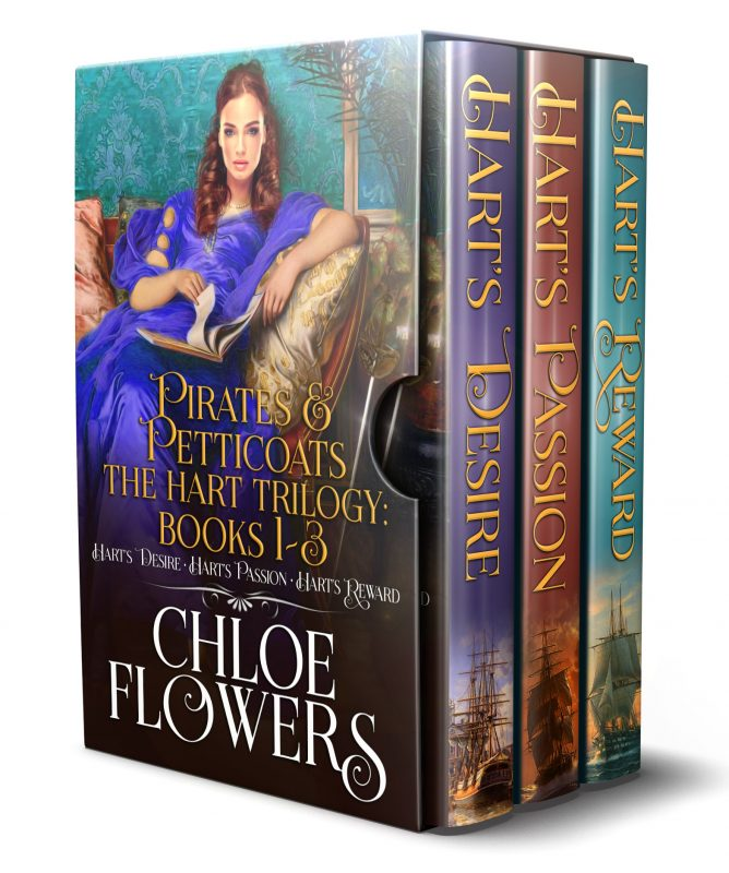 The Hart Trilogy ~ Pirates & Petticoats Books 1-3